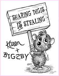Sharing Digis is stealing