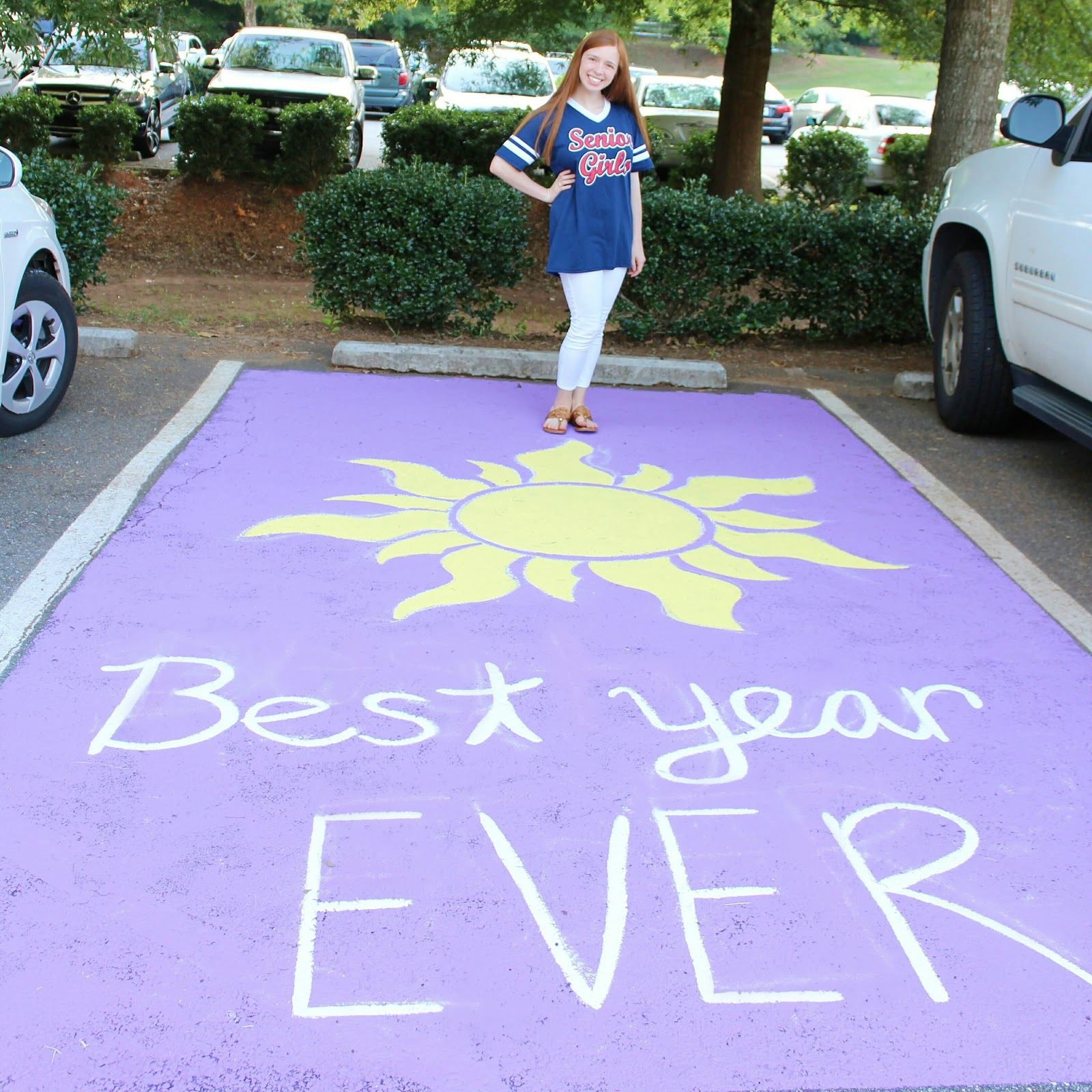How to paint a parking spot gracie in prep for Car painting school