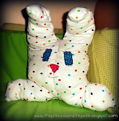 Spotty the Sleepsuit Bunny!