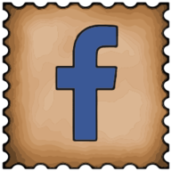 facebook stamp icon