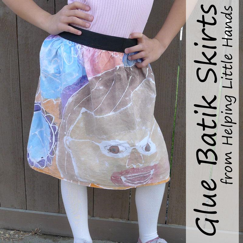 Easy Glue Batik SkirtsReacher Reviews