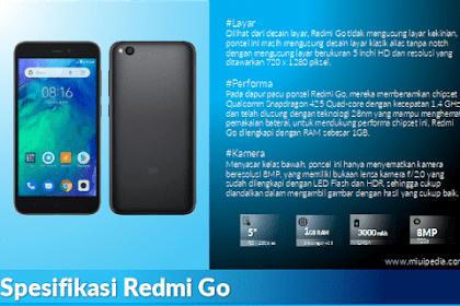 Review Spesifikasi dan Harga Redmi Go, Ponsel Android Go Pertama Setelah Pisah dari Xiaomi