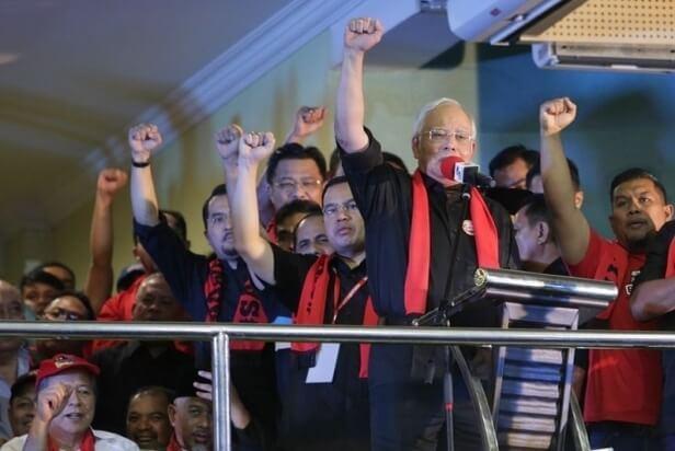 Najib+Demo