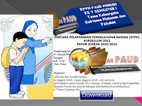 RPPH PAUD MINGGU KE 7 SEMESTER 1 Tema Keluargaku Subtema Makanan dan Pakaian