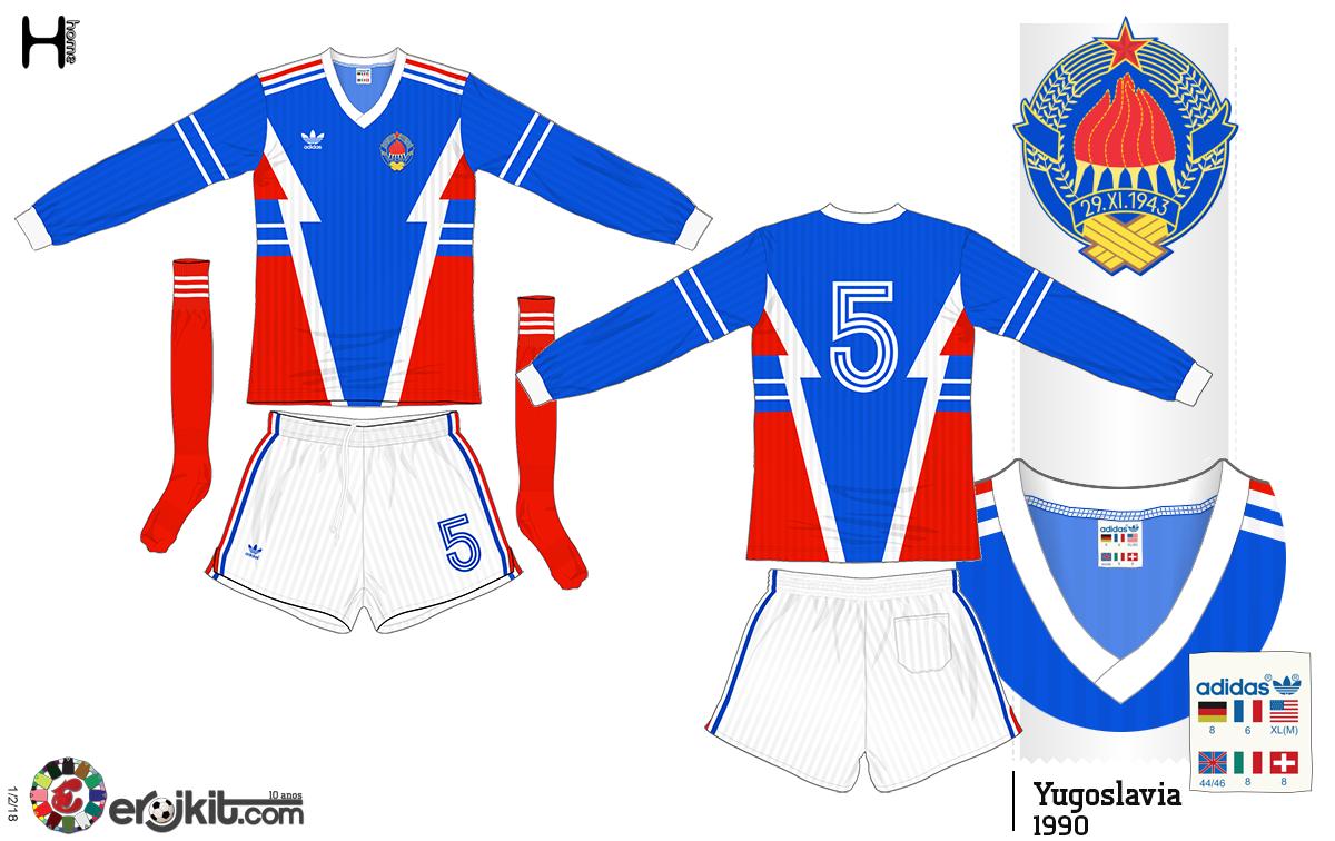 40f6518b82cc3 Camisa da Iuguslávia