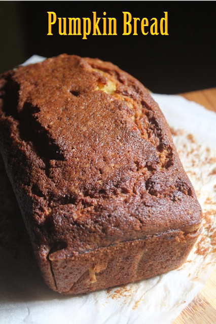 YUMMY TUMMY: Moist Pumpkin Bread Recipe