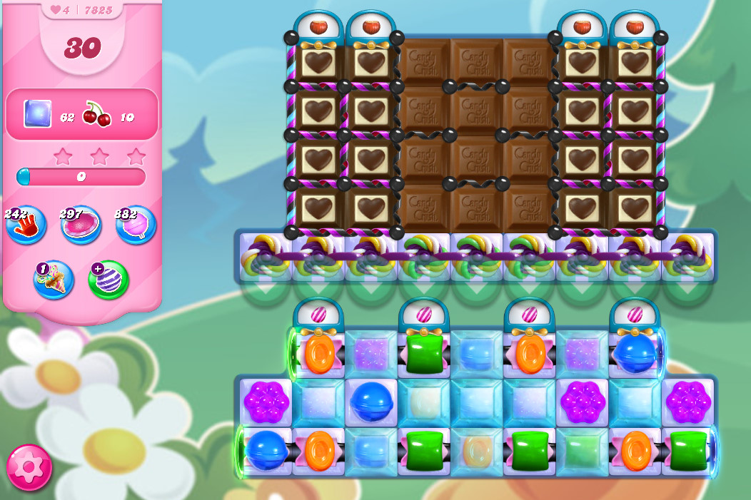 Candy Crush Saga level 7825