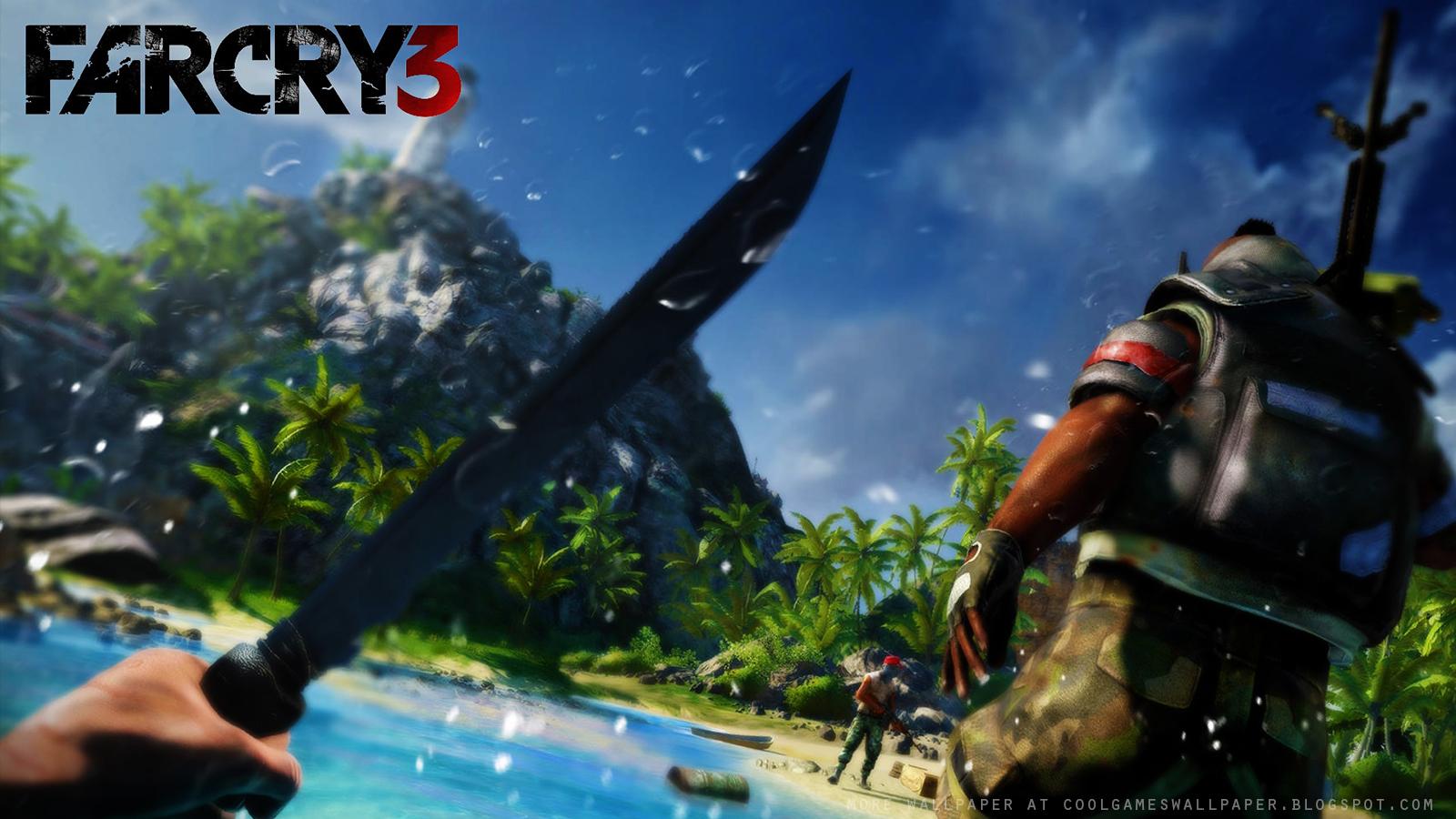 Far Cry 3 Wallpaper Cool Games Wallpaper