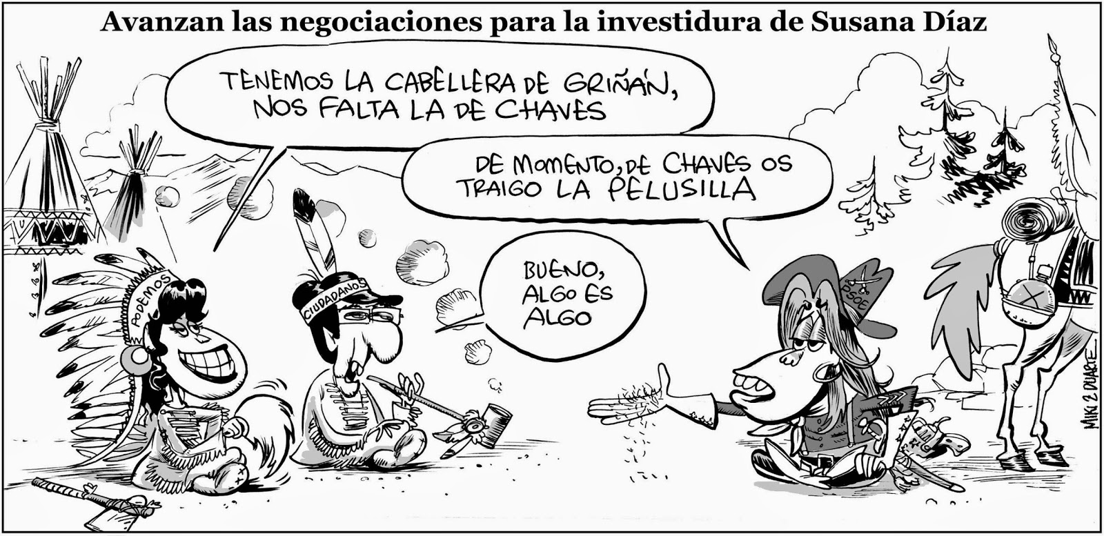 Viñeta Humor Susana Díaz