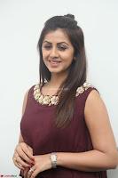 Nikki Galrani in a Brown Shining Sleeveless Gown at Nakshatram music launch ~  Exclusive 012.JPG