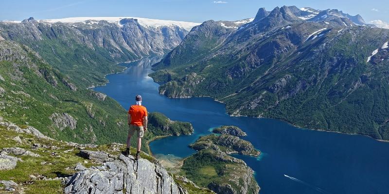 Paisagem da Noruega