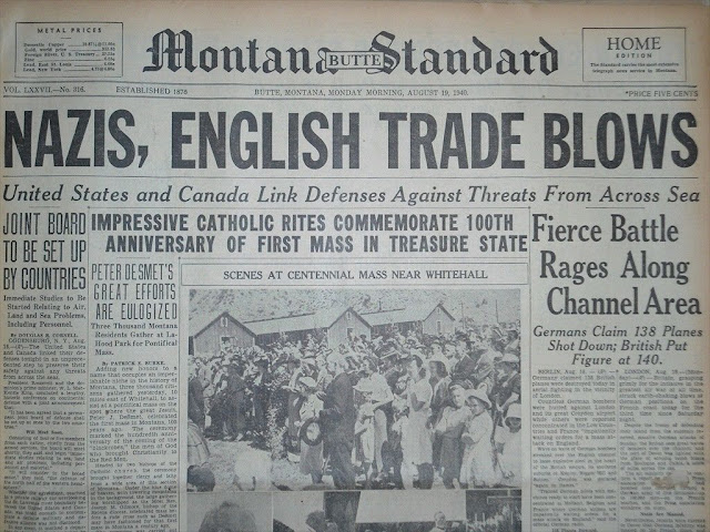 19 August 1940 worldwartwo.filminspector.com headlines