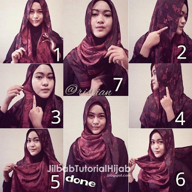 Cara Menggunakan Hijab Pashmina - hijab tutorial pashmina 2016