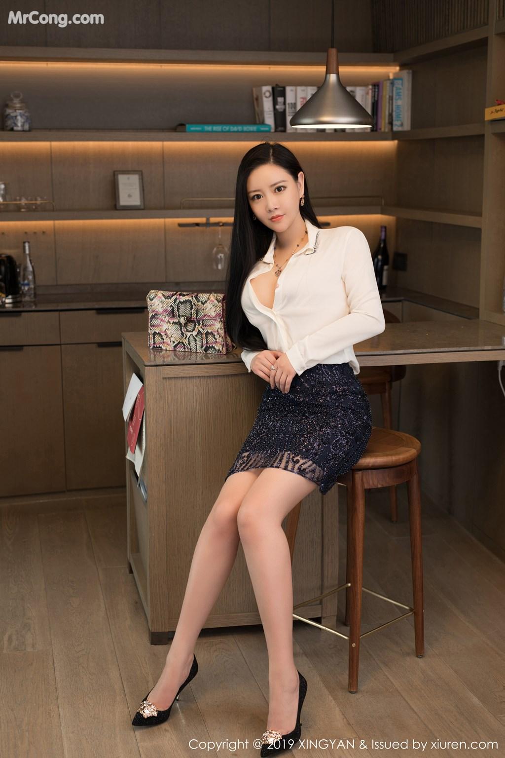 Image XingYan-Vol.115-Wang-Wan-You-Queen-MrCong.com-008 in post XingYan Vol.115: Wang Wan You (王婉悠Queen) (42 ảnh)