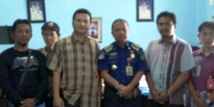 DPD NCW Prabumulih usai beraudiensi dengan Kesbangpol Prabumulih.