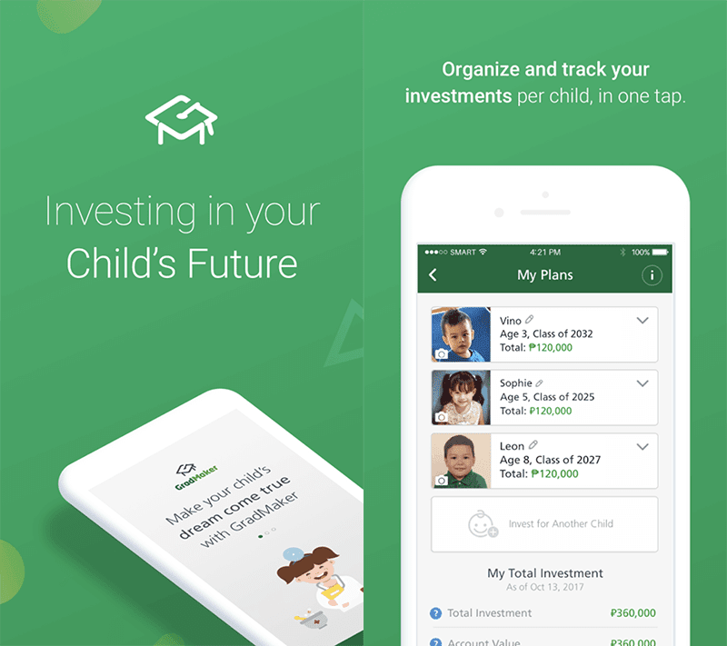 Manulife Philippines launched GradMaker app to help parents save for their kids