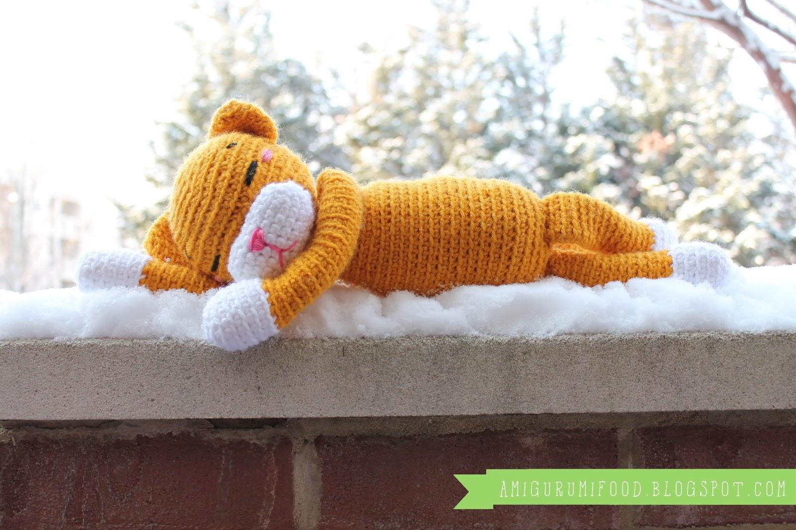 Crochet Large Amineko Cat Free Pattern… | Magan Villa Blog | 1066x1600