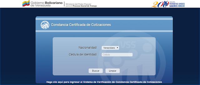 CONSULTA CONSTANCIA CERTIFICADA DE COTIZACIÓN ELECTRÓNICA DEL SEGURO SOCIAL