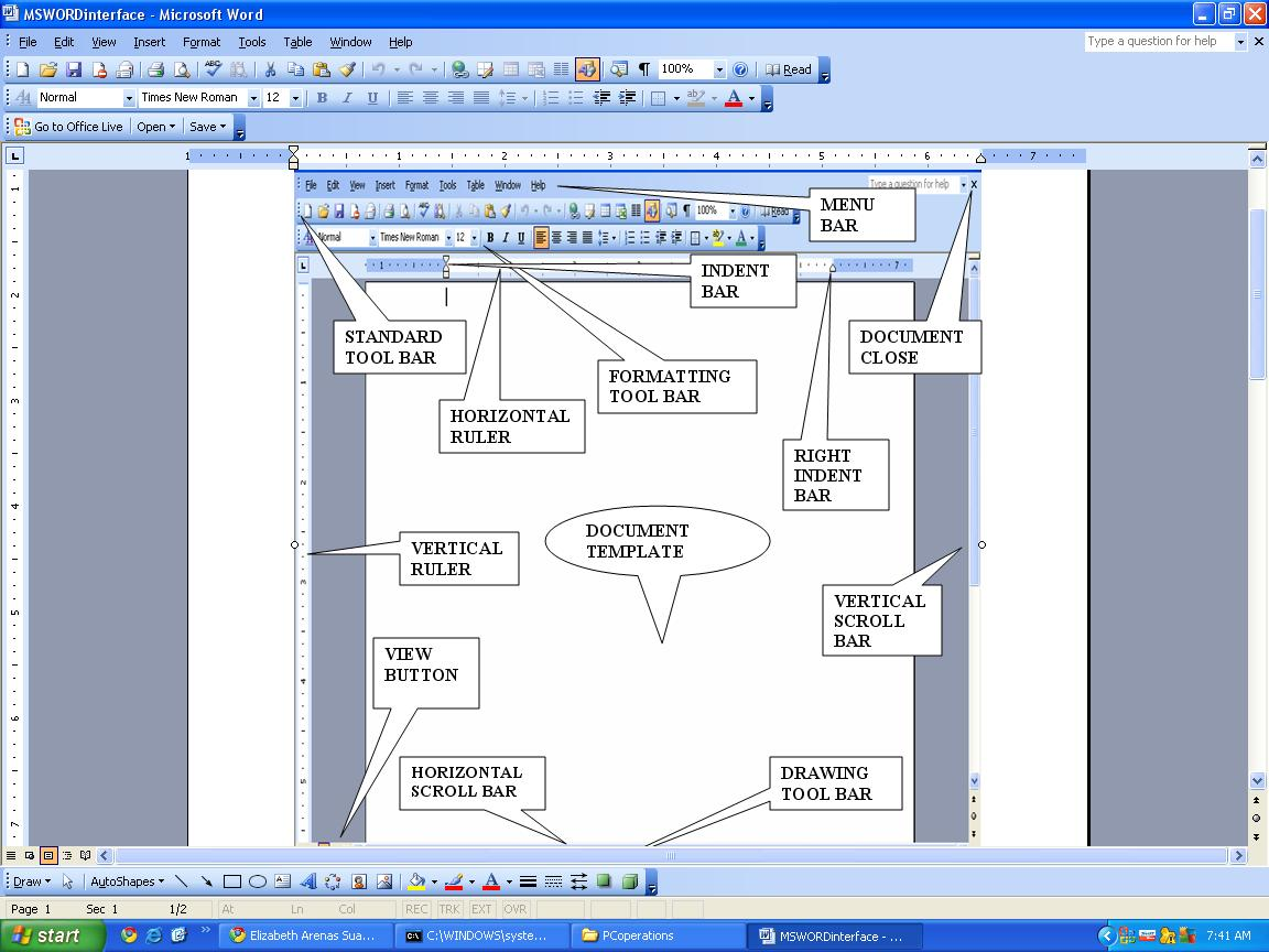 Microsoft Office 2003 Basic Parts