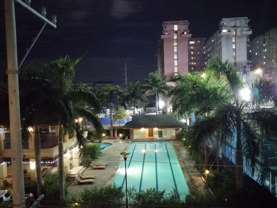 Huawei Y9 2019 Main Camera Sample - Night, Pool - Auto