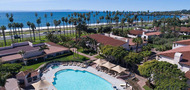 For an authentic California vacation, stay at this Santa Barbara, CA resort with spacious guest rooms, and the largest pool and most event space in the region.