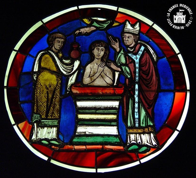 LA FRANCE MEDIEVALE: PARIS (75) - Musée National du Moyen Age : Vitraux de la Sainte-Chapelle