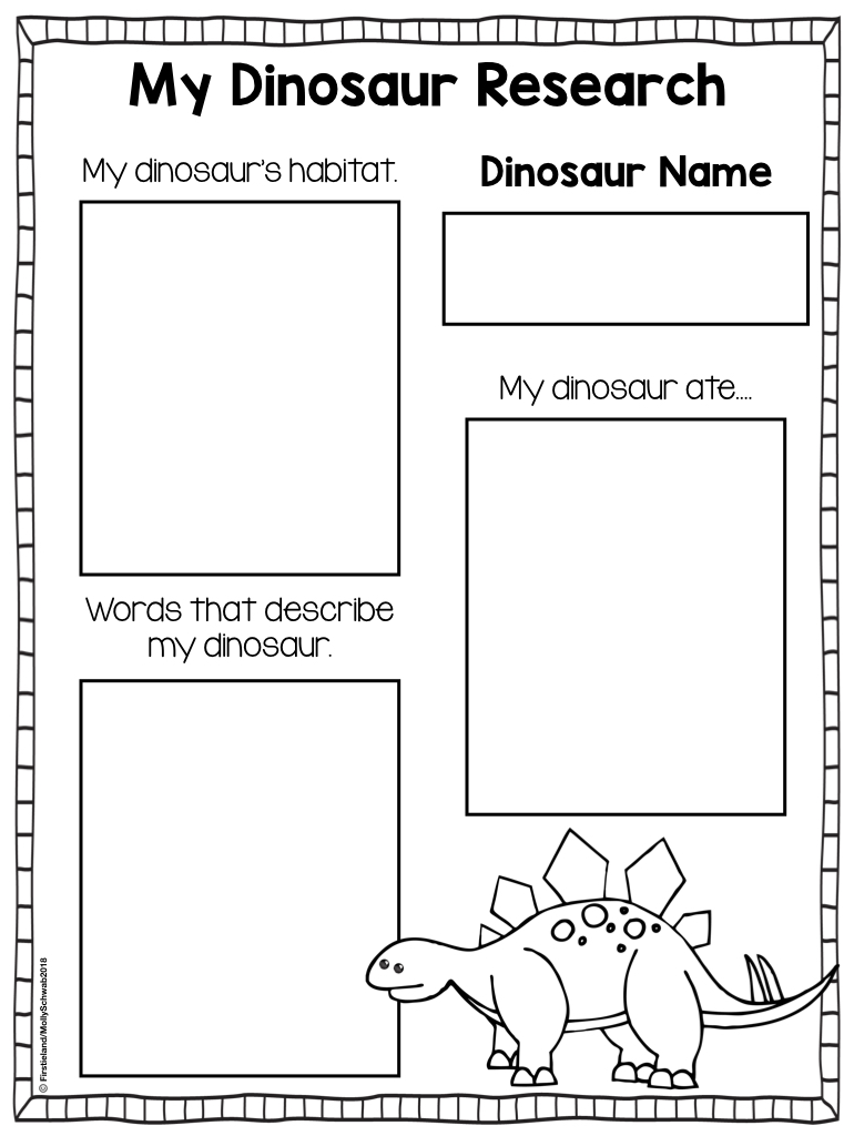 small resolution of Dinosaur Activities For Kids - Firstieland