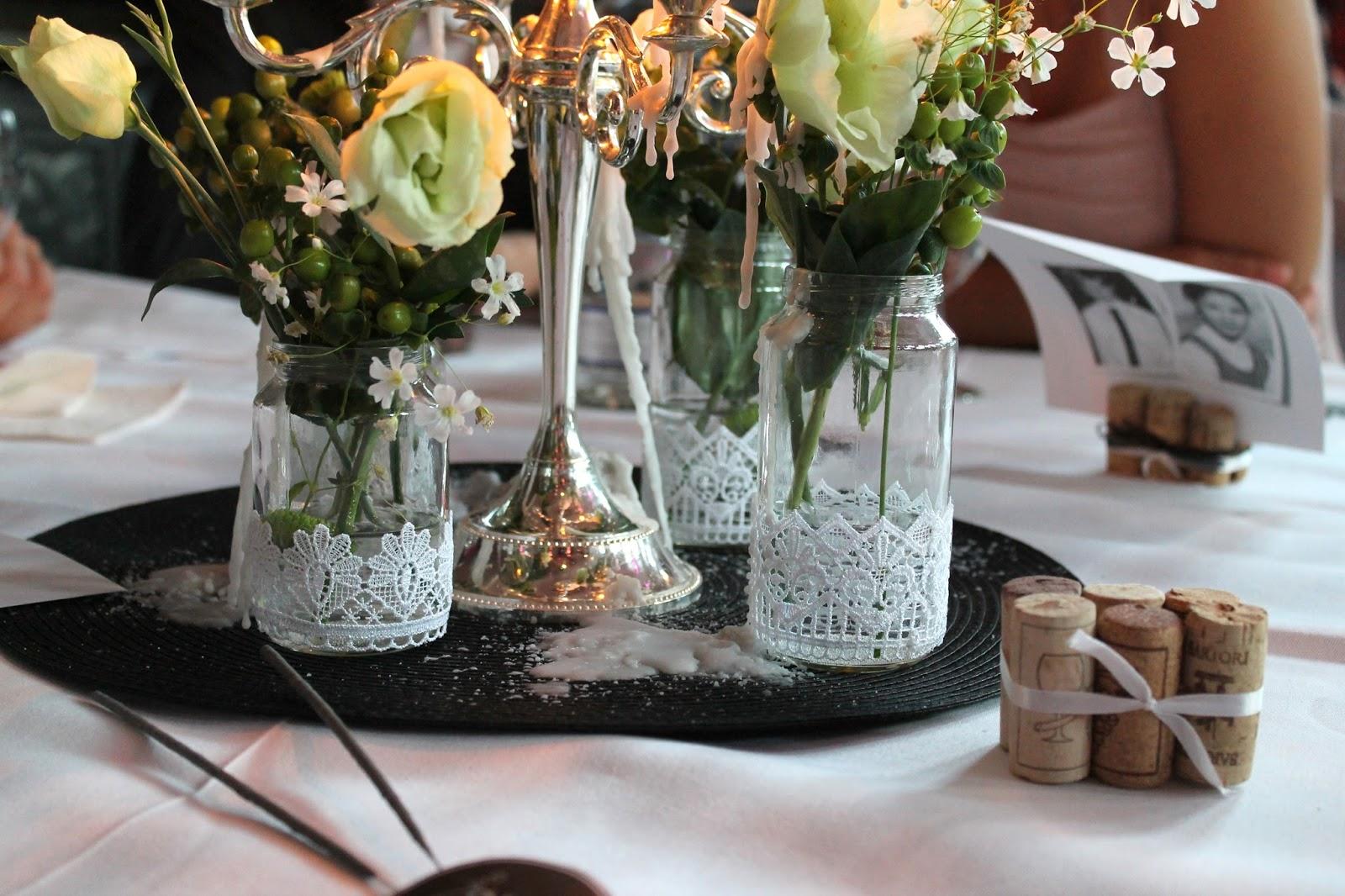 Tischdeko Glaser Diy 1 Muster Tolle Deko Glaser Vase Aus Upcycling