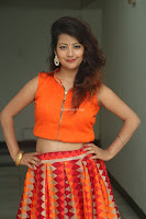 Shubhangi Bant in Orange Lehenga Choli Stunning Beauty ~  Exclusive Celebrities Galleries 006.JPG