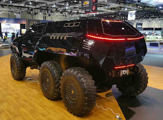 $450k Devel Sixty 6x6 Monster SUV