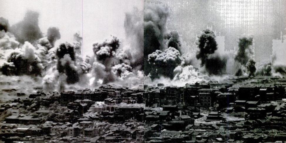 12 August 1940  worldwartwo.filminspector.com Chungking bombing raid