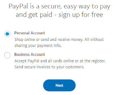 PayPal India - Account registration