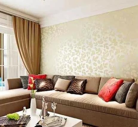 Contoh Wallpaper Ruang Tamu Yang elegan dan cara memilihnya