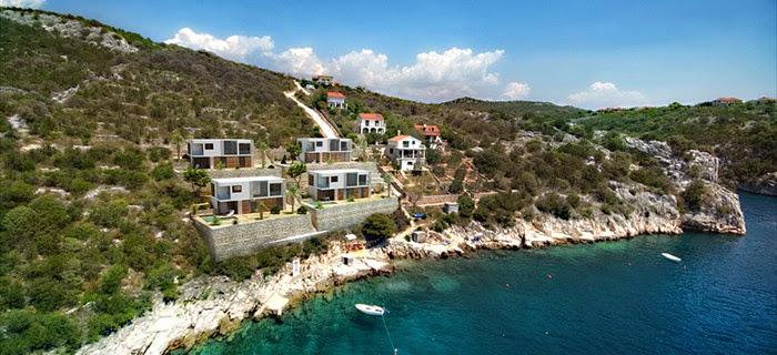 villen direkt am meer kaufen in kroatien panorama. Black Bedroom Furniture Sets. Home Design Ideas