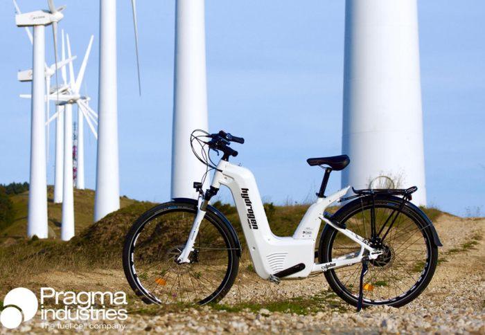 Alpha, la primer bicicleta eléctrica de hidrógeno.