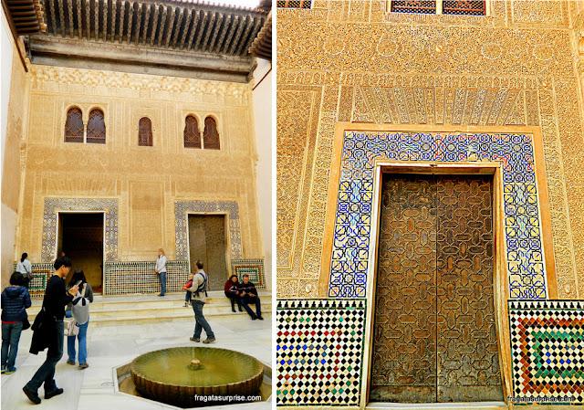 Pátio do Quarto Dourado, Palácio de Comares, Alhambra