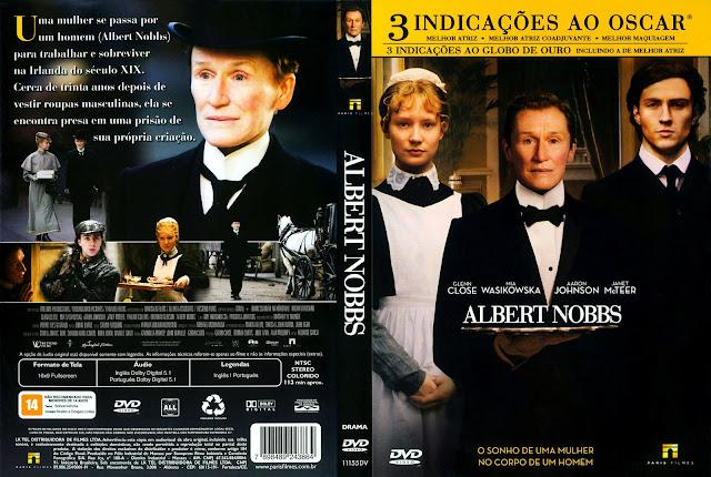 Capa DVD Albert Nobbs