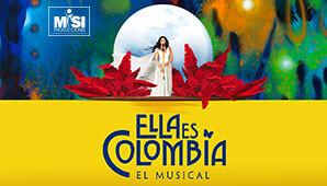 Musical ELLA ES COLOMBIA por MISI