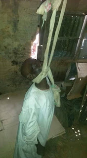 GOMBE STATE: Elderly Gombe Man Commits Suicide in Gombe (Picture)
