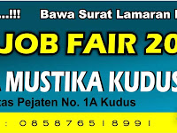Nasional Karir Fair Kudus Job Fair 2016 Tanggal 5 - 6 Oktober 2016 di Gd.Graha Mustika Kudus