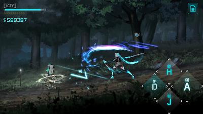 لعبة القتال والمغامرة ICEY مدفوعة للأندرويد - تحميل مباشر