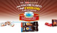 Logo Vinci 8 weekend alla Fabbrica del Cioccolato con Agorà