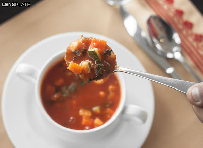 Minestrone Soup at Vivanta By Taj Guwahati