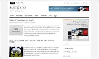Template Blog Super SEO