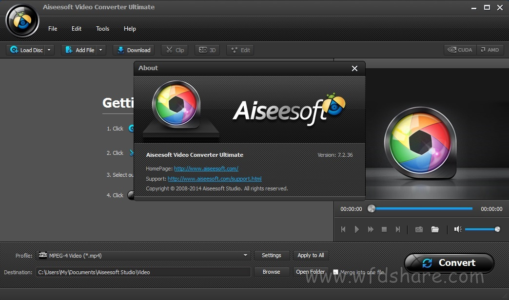 Aiseesoft Video Converter Ultimate free full version