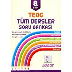 Karekök TEOG 8.Sınıf Tüm Dersler Soru Bankası (2017)