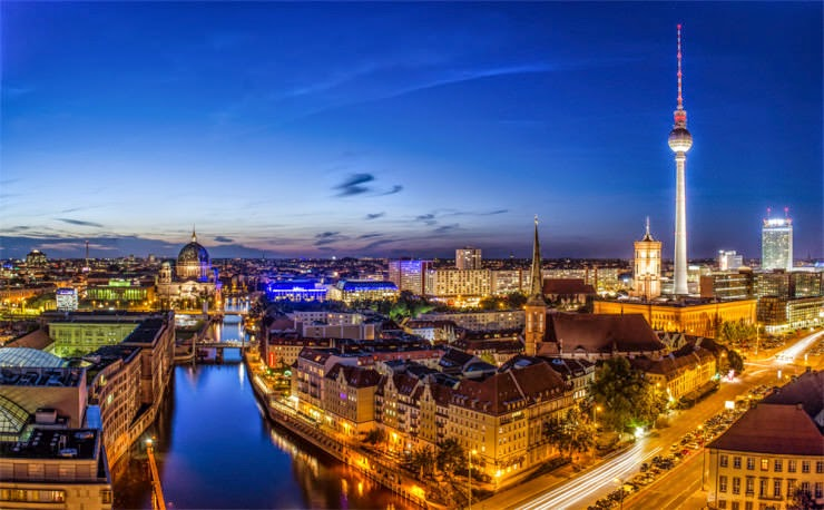 13. Berlin, Germany - 30 Best and Most Breathtaking Cityscapes