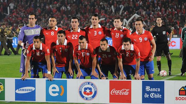 Formación de Chile ante Bolivia, Clasificatorias Brasil 2014, 11 de junio de 2013