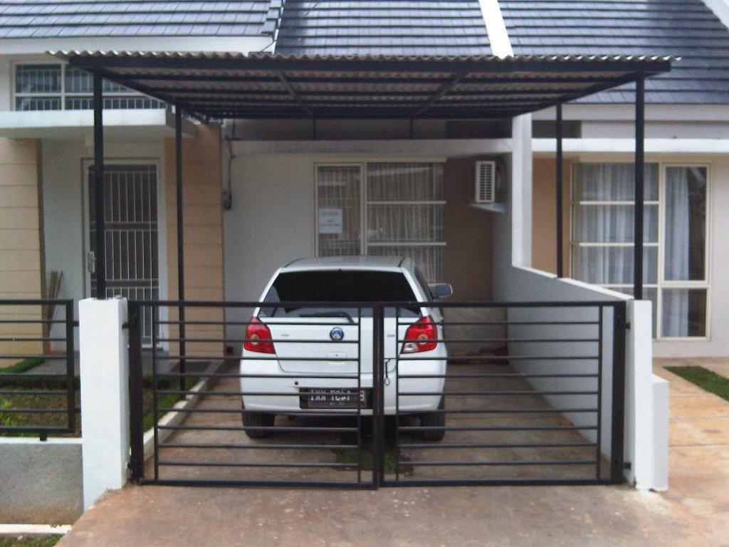 Desain garasi minimalis