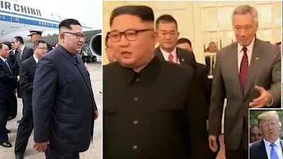 Kim Jong-un Arrives Singapore For Summit With President Trump - Image ~ Naijabang